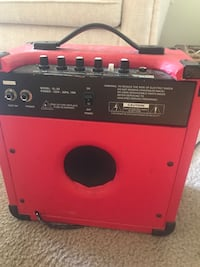 Red and black portable amp Gainesville, 32608