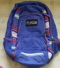 Purple Trans by Jansport Backpack with supplies Clinton, 01510