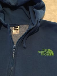 blue The North face zip-up hoodie Fort Dodge, 50501