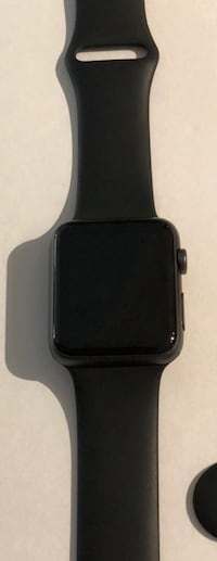 Black apple watch with black sports band Sandy Springs, 30328