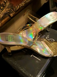Clear and gold sandal Montgomery, 36116
