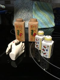 S & P Shakers. $10.00 a set or Floral City, 34436
