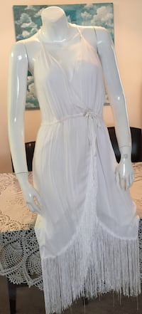 Beautiful, white cocktail dress, new with tag Tustin, 92780