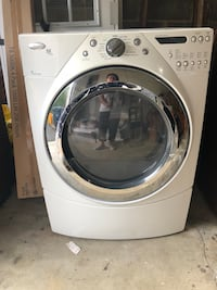 White front-load clothes washer Hyattsville, 20783