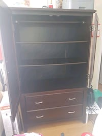 Dresser/tv stand/armoire real wood, spacious, heavy, beautiful piece Montreal, H3C 0G3