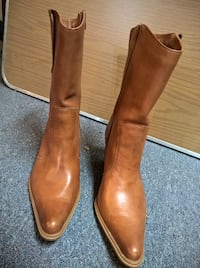 """Boots, 2 ¾"""" heels, genuine leather, Western Style"""