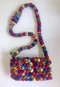 Colorful felted purse  Chattanooga, 37343