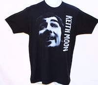 Keith Moon Black T-Shirt Denver, 80231