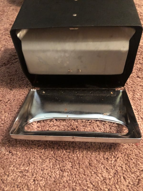 2 black & silver napkin dispensors 5