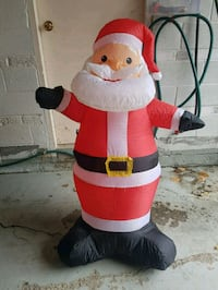 Christmas 4ft LED Lighted Air Blown Santa Toronto, M1T 1V7