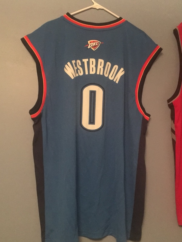 6a35ef848 Used Russell Westbrook Jersey Size XXL for sale in Oakville - letgo
