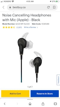 BOSE QUIET COMFORT NOISE CANCELLING WIRELESS HEADSET  NEW UNOPENED
