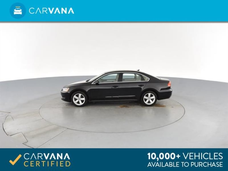 2013 VW Volkswagen Passat sedan TDI SE Sedan 4D BLACK 6