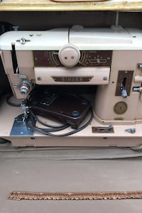 1950 Singer sewing machine