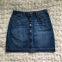 H&M Denim Skirt Surrey, V3Z 9P5