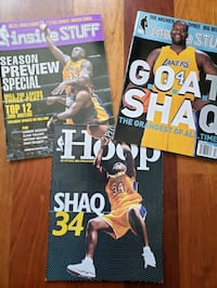 Shaquille O'neal Lakers NBA basketball magazines