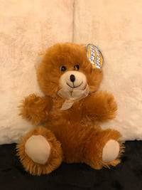 brown and white bear plush toy Frederick, 21703