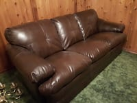 Bonded Leather Sofa in Excellent Condition Brantford