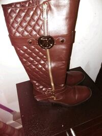 Brown Knee Boots Albany, 12206