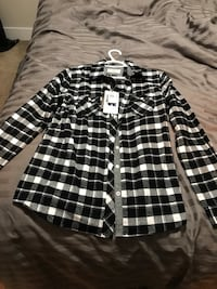 Brand new tags still on Plaid shirt