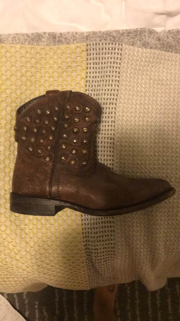 Frye studded boots size 5.5