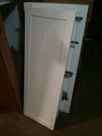 white single-door refrigerator Springfield, 22151