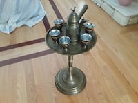 Ali Baba coffee tray and stand Coquitlam, V3B 0C6