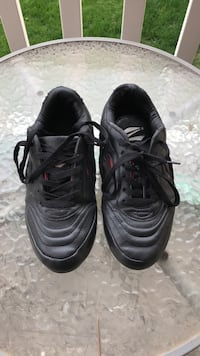 Pair of black nike cleats