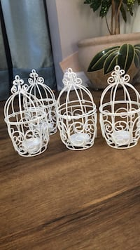 Mini tea light lanterns (4) Laurel, 20707