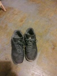 pair of black leather work boots New Port Richey, 34653