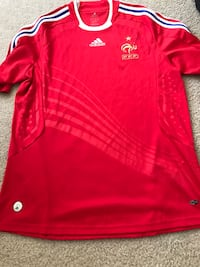 Men's France Away Large soccer Jersey Washington, 20037
