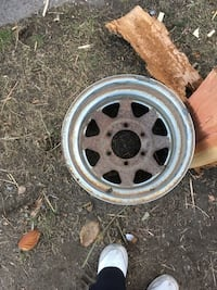 Steel Chevy Rims 15""