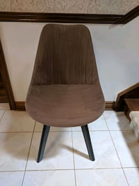 Dining Chair, brown, ribbed Whitchurch-Stouffville