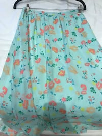 teal and red floral maxi skirt Toronto, M6B 2N2