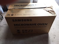 Samsung over range microwave/vent Wasaga Beach, L9Z