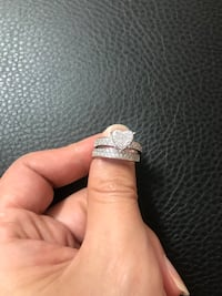 925 silver rings cz (size 7) 费城, 19149