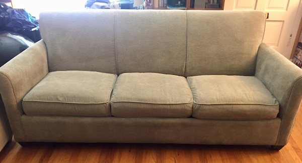 Crate And Barrel Oxford Queen Sleeper Twin Sofas Ottoman
