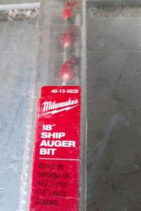 Milwaukee 18 inch ship auger bit new Silver Spring, 20905