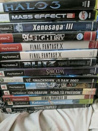 Ps2 and xbox 360 games  Winnipeg, R2W 2S8