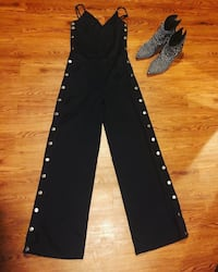 Black Studded Jumpsuit Washington, 20018