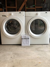 White front-load washer and dryer set Carmichael, 95608