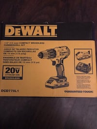 Dewalt compact brushless hammer drill kit Decatur, 30034