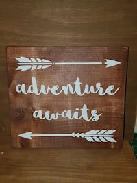 adventure awaits wall decoration Guelph, N1E 6Y9