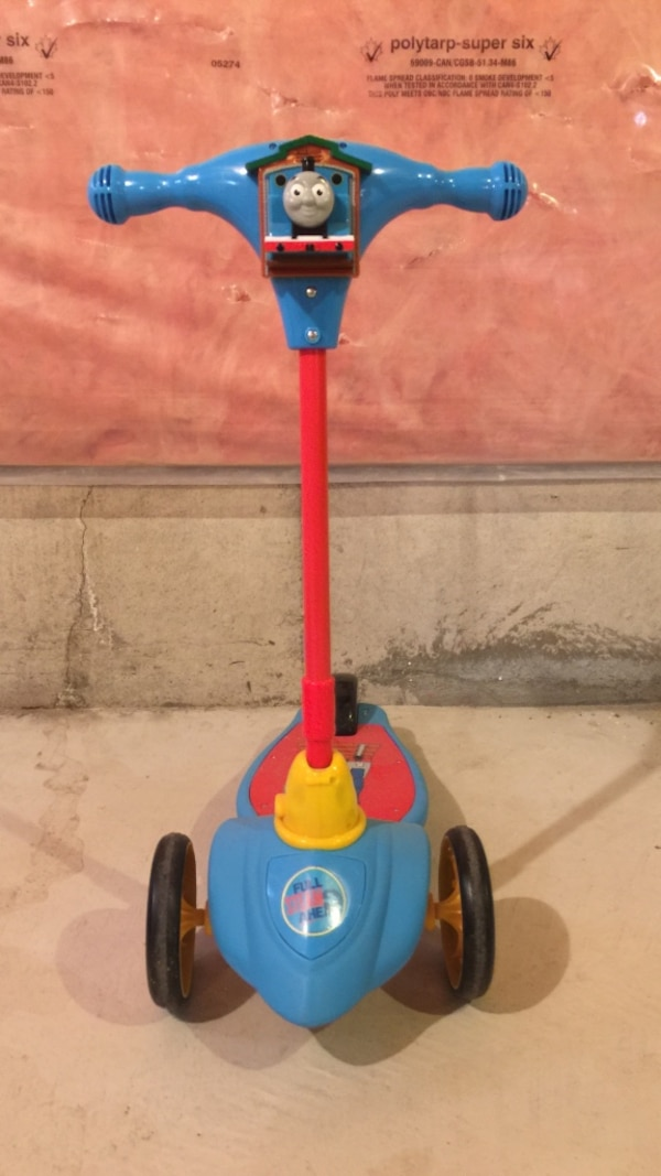 USED Thomas and Friends *My First 3 Wheel Scooter*