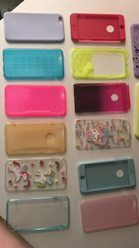 Assorted-color smartphone case lot