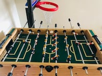 brown and black foosball table Kensington, 20895