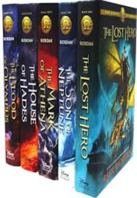 All 5 Heroes of Olympus Books Fairfax