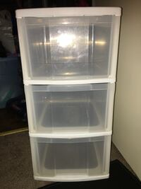 3 Drawers (plastic)