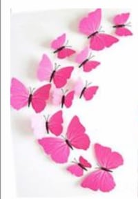 New butterflies set of 12 comes with sticky's Vaughan, L4L 1S2