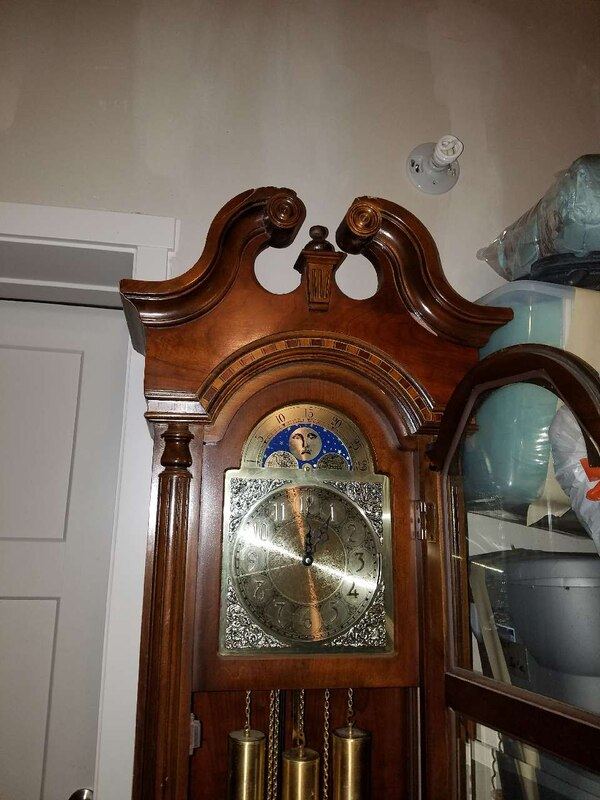 Used Pearl Grandfather Clock For Sale In Meridian Letgo